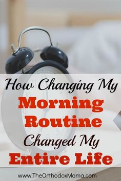 My life is completely different this year than it was last year--and it's all because I changed my Morning Routine.  I have been able to reach so many goals and pursue dreams.  In just 15 minutes a day!