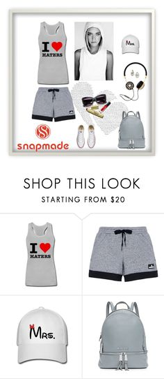 """""""snapmade"""" by merisa-imsirovic ❤ liked on Polyvore featuring adidas, MICHAEL Michael Kors and Converse"""