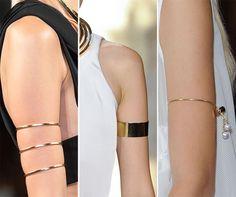 Spring/ Summer 2015 Jewelry Trends: Upper Arm Bracelets and Cuffs Timothy John New York NECKALCE 2015 TREND LUXURY HOT GLAMOROUS