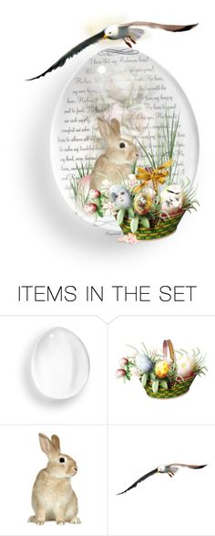"""Glass Easter Egg!"" by ragnh-mjos ❤ liked on Polyvore featuring art"