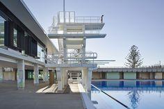 Exteriors. Gold Coast Aquatic Centre, Queensland, Australia. Photo Christopher Frederick Jones