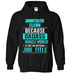 Administrative Secretary T-Shirts, Hoodies (40.95$ ==► Order Here!)