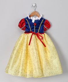Take a look at this Yellow Snow White Dress - Toddler & Girls on zulily today!