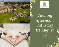 Darver Castle's doors are open this Saturday for private viewings if you are looking for your dream wedding venue.  Darver Castle is set in 50 acres of fine parklands & wooded grounds in the rolling countryside of Co. Louth. It is a truly magical & unforgettable venue that includes the opportunity to host your wedding ceremony in our courtyard.  Please do get in touch as we would love to show you around & answer any questions you may have. Email us to book your appointment… Wedding Ceremony, Wedding Venues, Reception, Castle Doors, Private Viewing, Brewing Tea, Simply Beautiful, Countryside, Dreaming Of You