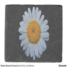 Daisy Stone Coaster