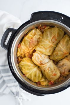 Cabbage Roll Sauce, Cabbage Rolls Recipe, Cabbage Recipes, Instant Pot Cabbage Recipe, Instant Pot Dinner Recipes, Crock Pot Cabbage, Baked Cabbage, Instant Pot Pressure Cooker, Pressure Cooker Recipes
