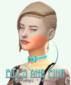 [puna-sims] pills and pins choker [puna-sims] pills and pins earrings Sims 4 Cc Packs, Sims 4 Mm Cc, Sims 4 Game Mods, Sims Mods, Best Pc, Sims 4 Cc Finds, Sims 4 Custom Content, Chokers, Ts4 Cc