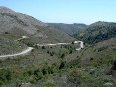 Col de Vence (Alpes Maritimes) - 963m - 10km à 6,5% (9% maxi)
