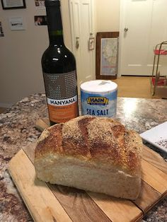 It's A Wonderful Life Dinner: Bread, That this house may never know hunger; Salt, that life may always have flavor; Wine, that joy and prosperity will reign forever.