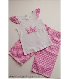 Tutorial: Sew a quick pajama set for a young child