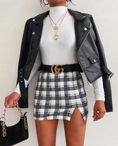 Dressy Casual Outfits, Cute Skirt Outfits, Trendy Summer Outfits, Simple Outfits, Stylish Outfits, Teen Fashion Outfits, Aesthetic Clothes, Ideias Fashion, Mini Skirts