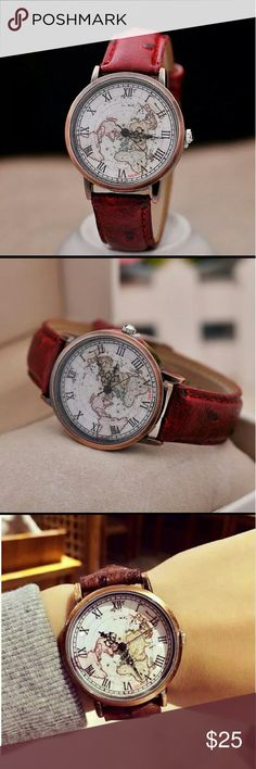 Coming Soon NW Map Watch Brand NW zdazzled Accessories Watches