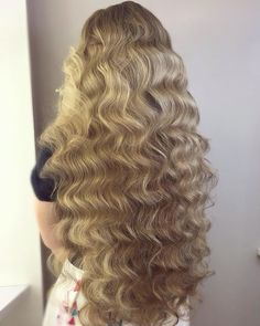 Photos of Perfect Blonde Color Hairstyle for Long Hair Long Textured Hair, Long Curly Hair, Big Hair, Beautiful Long Hair, Gorgeous Hair, Long Curls, Super Long Hair, Ginger Hair, Pretty Hairstyles