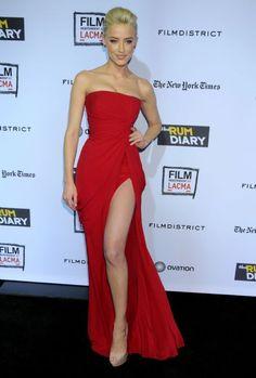 Amber heard red dress maxim