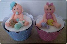Art no Fogão: Cupcake - Chá de Bebê