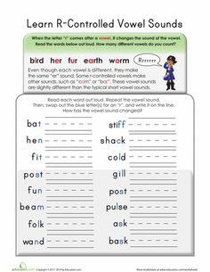 1000 images about r controlled vowels on pinterest word sorts phonics and word work. Black Bedroom Furniture Sets. Home Design Ideas