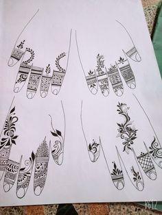 Rose Mehndi Designs, Henna Tattoo Designs Arm, Basic Mehndi Designs, Back Hand Mehndi Designs, Indian Mehndi Designs, Mehndi Designs 2018, Mehndi Designs For Beginners, Mehndi Designs For Fingers, Mehndi Design Images