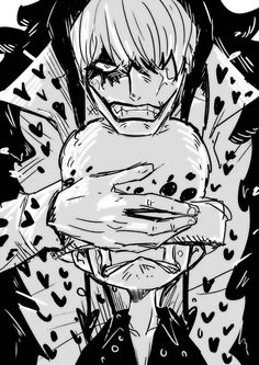 Don't make law cry/Law,corazon/one piece