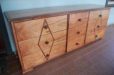 Custom Art Deco Low Boy Dresser by Altadena Designs | CustomMade.com