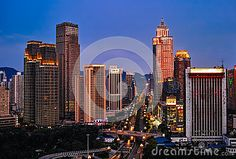 Night Scenes Of Chongqing Editorial Photography - Image: 43085142
