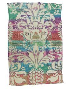 Fresco Towels Rainbow Damask Ivory Hand Towel