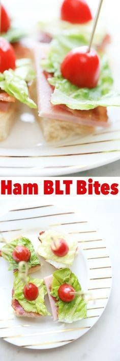Whether your celebra Whether your celebrating your favorite team...  Whether your celebra Whether your celebrating your favorite team or your favorite person these Ham BLT Bites are perfect for any occasion. Easy to make and easy to eat. Recipe : http://ift.tt/1hGiZgA And @ItsNutella  http://ift.tt/2v8iUYW