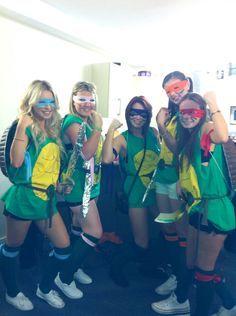 Teenage Mutant Ninja Turtles TMNT Halloween Group Fancy Dress Costume