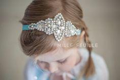 Princess Elsa Crown headband Frozen by MilleFeuilleBoutique
