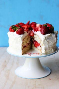 Swedish Midsommar Cake // The Sugar Hit