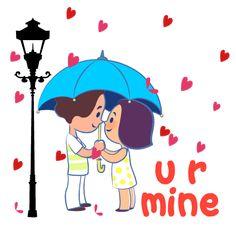 Love You Gif, Cute Love Gif, Cute Love Quotes, Funny Cartoon Gifs, Cute Cartoon Wallpapers, Cartoon Art, Cute Bunny Cartoon, Cute Love Cartoons, Animated Smiley Faces