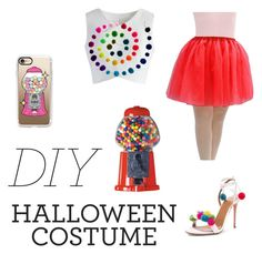 """""""Just an idea"""" by pinkanchor10 ❤ liked on Polyvore featuring Chicwish, Casetify, halloweencostume and DIYHalloween"""