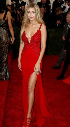 Gigi Hadid looked gorgeous at the Met Gala.
