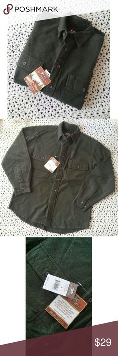 {Moose Creek} New! Button down shirt sz S New with tags! Men's Moose Creek Button down long sleeve shirt. It is a thicker shirt, but not super thin either. It's a dark olive green, beautiful color. Style # 4620 Color: LODEN MSRP $48 moose creek Shirts Casual Button Down Shirts