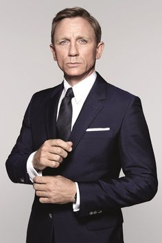 James Bond Daniel Craig Spectre Sharkskin Navy Suit #Black #Friday #Deals