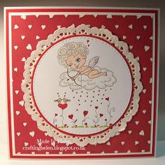 Made by Helen: New Julia Spiri Stamps Challenge - Anything Goes/Love is in the Air