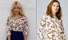 Holly Willoughby wears 25 floral shirt from THIS high street store on ITVs This Morning