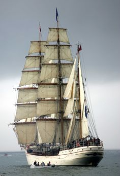The Dutch Bark EUROPA ~ Love this ship! I follow her adventures on Facebook....