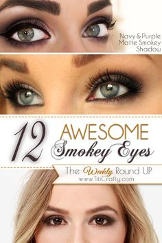 12 Awesome Smokey Eyes Tutorials!