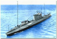 "Greek Submarine Y-2 ""Papanikolis"""