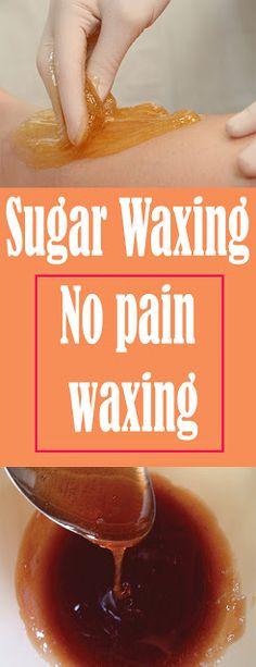 Sugar Waxing – No pain waxing