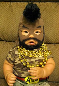 Mr. T costume for baby — Lost At E Minor: For creative people