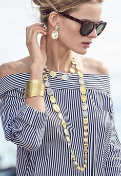 18-kt. Gold Cuff, Diamond Necklaces & Diamond Earrings