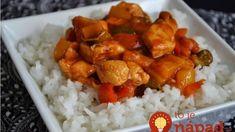 Najfajnovejšia kuracia čína: Bleskový recept odkukaný od mojej mamy, lepšiu som za celé roky nejedla! Garam Masala, Chana Masala, Seitan, Family Meals, Curry, Chili, Food And Drink, Rice, Meat