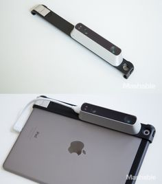 The Structure Sensor 3D Scanner allows any iPad with a lightning connector to scan and import 3D images of rooms, objects and people.