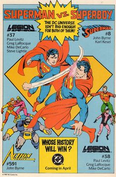 Comic Book Pages, Comic Book Covers, Comic Books Art, Book Art, Superman Characters, Superman Comic, Archie Comics, Marvel Dc Comics, Comic Art Fans