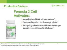 Cell Activator Beneficios Herbalife