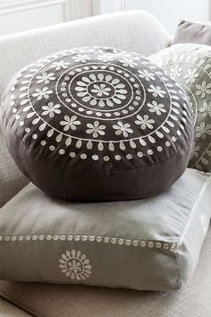Buy Home Decor Online - Vases & Candlelight, Picture frames, Wall Art, Cushions, Throws, Window dressing, Decorative accents - Morocco Round Cushion - EziBuy New Zealand