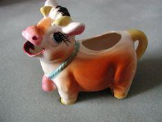 Vintage Cow Creamer, via Etsy.