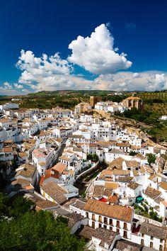Setenil de las Bodegas, Pueblos Blancos (white villages) in Andalusia, Cadiz Spain ~ Photo by Bartek Rozanski