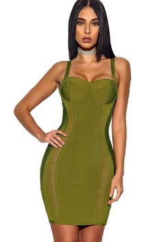 966e1fe11f23 133 Popular Bandage Dresses (Robes Bandage) images in 2019